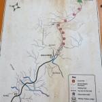 Map of Tahan Trek