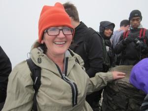 Barbara at the summit