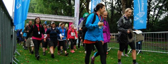 Thames Path Challenge 2016